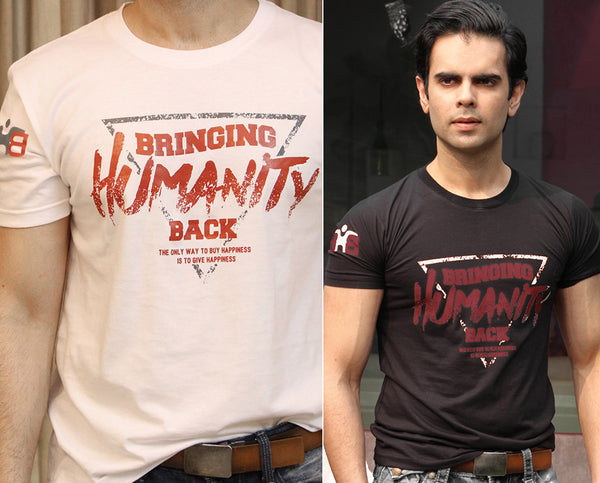 Shop for Cause, Unisex Bringing Humanity Back, Glossy Graphic Tshirt, Free shipping