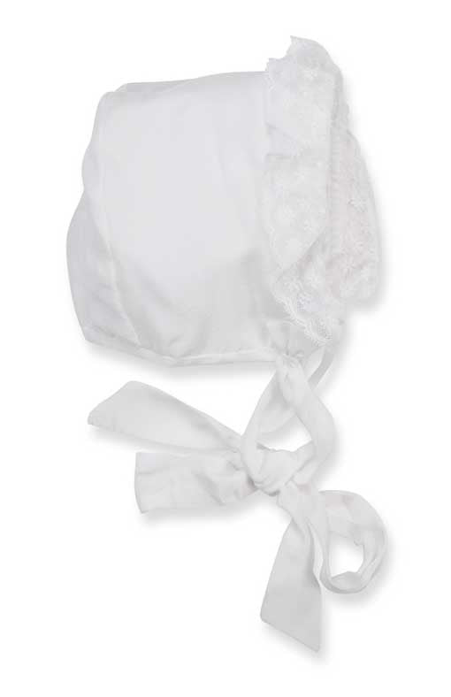 The Baroni White Silk and Lace Christening Robe - Baroni Firenze - 2