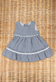 Blue Checked Dress