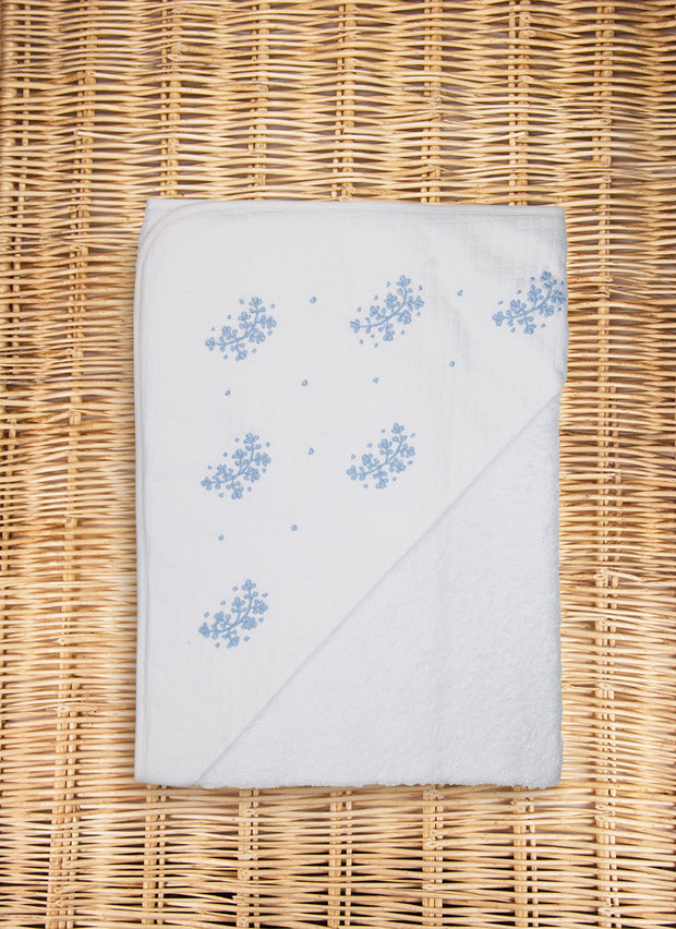 Little Leaves Hooded Towel