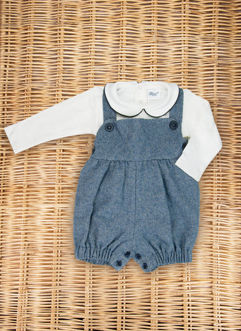 Cotton Romper Seashell