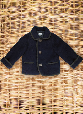 Boiled Wool Coat