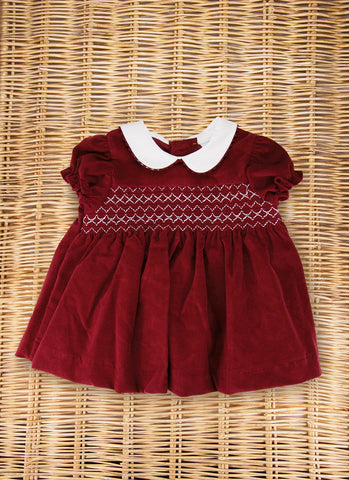 Cherry Scalloped Dress