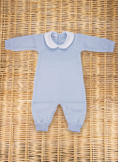 Wool Onesie with smock