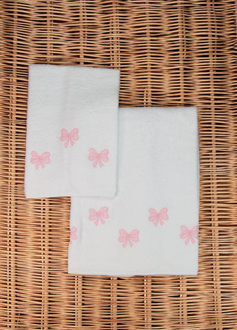 Little Bows Hooded Towel