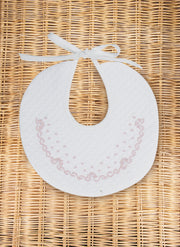 Flower and Chain Bib