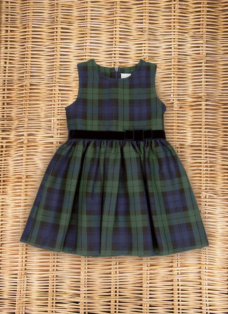 Sleeveless Tartan dress