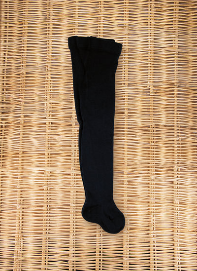 Warm Cotton Tights Navy