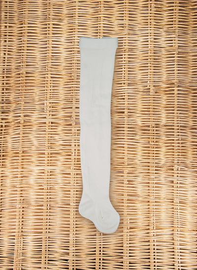 Warm Cotton Tights Cream