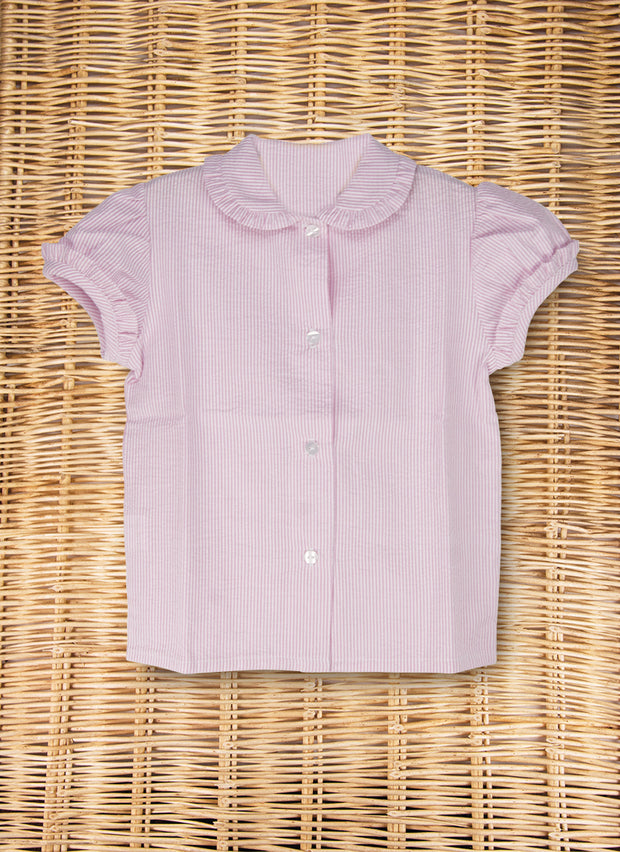 Pink Shirt Short Sleeve