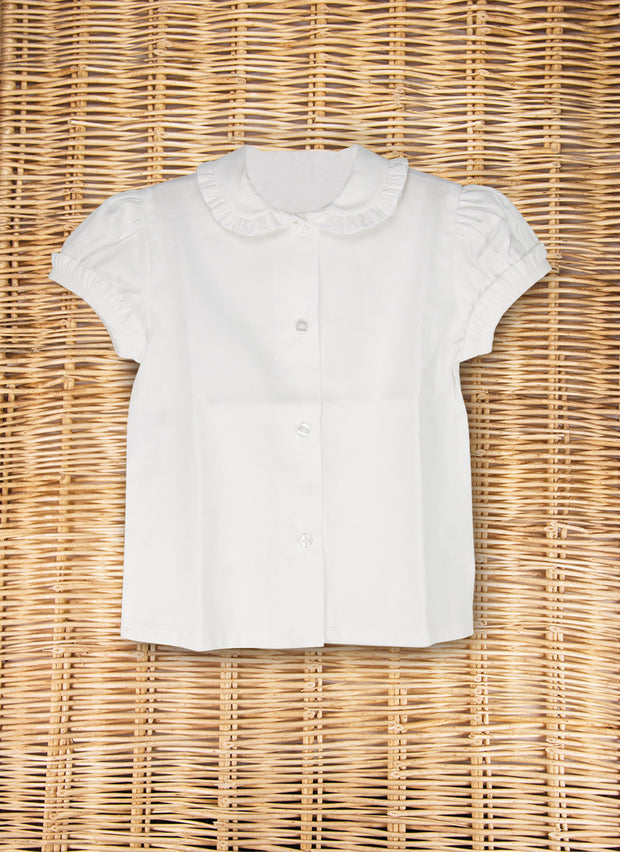 White Shirt Short Sleeve