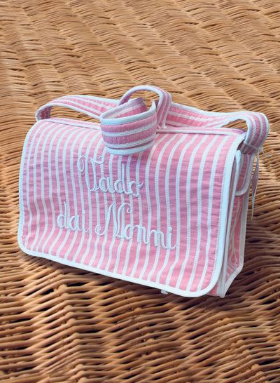 Vado dai nonni Bag - Striped