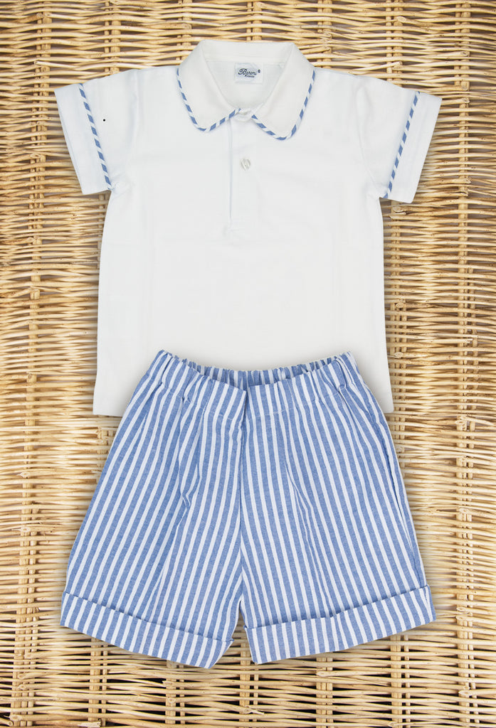 Striped Boy Set
