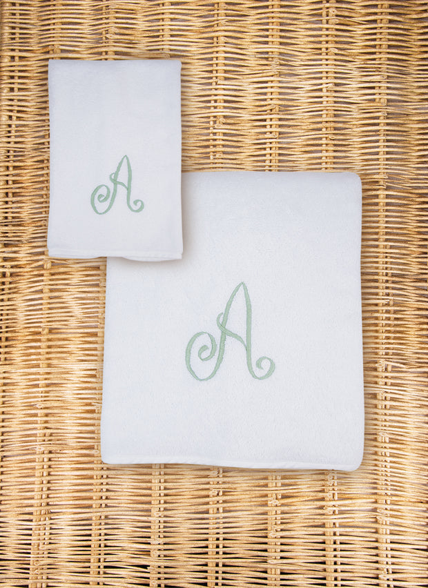 Monogram Towel Set