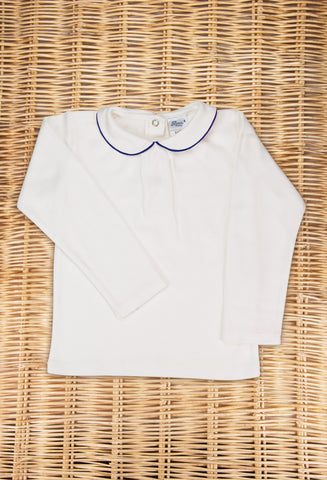 Embroidered Collar Shirt