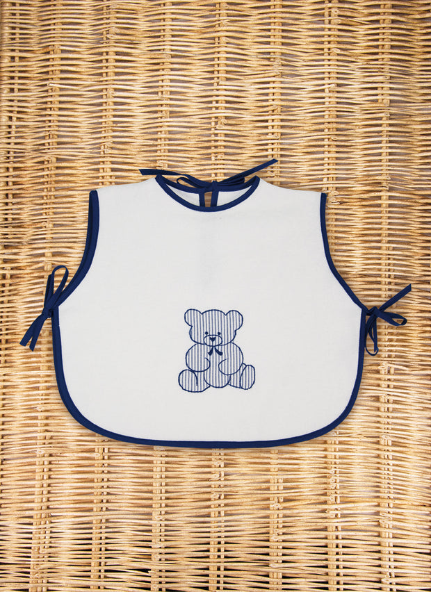 Teddy Bear Terry Bib