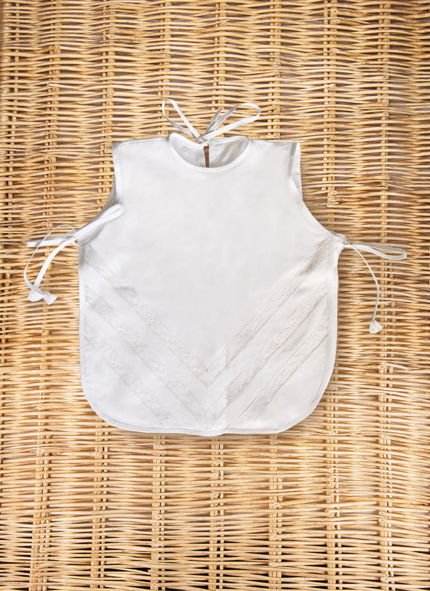 BAPTISMAL BIB IN LINEN