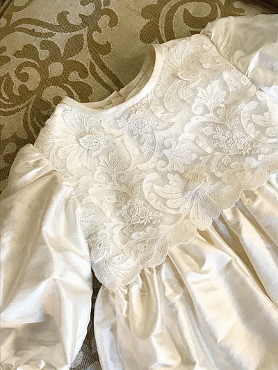 The Baroni Lace Christening Robe - Baroni Firenze - 1