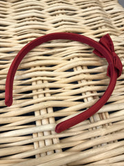 Red Silk Hairband