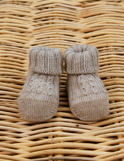 Pure Wool Booties