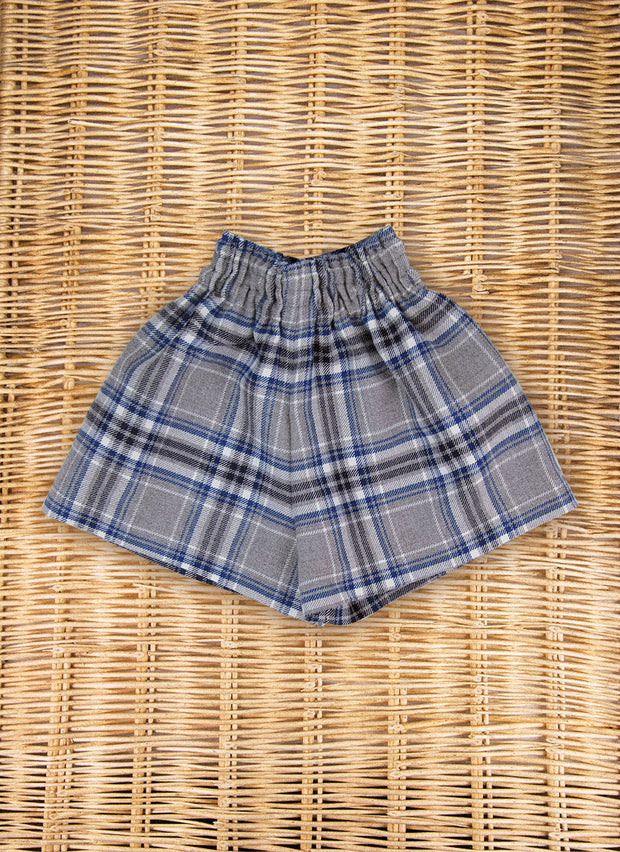 Tartan Shorts for girl