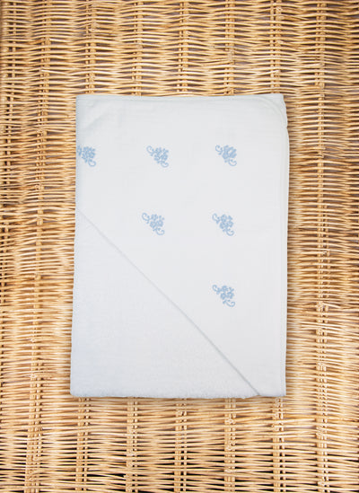 Little flowers Hooded Towel