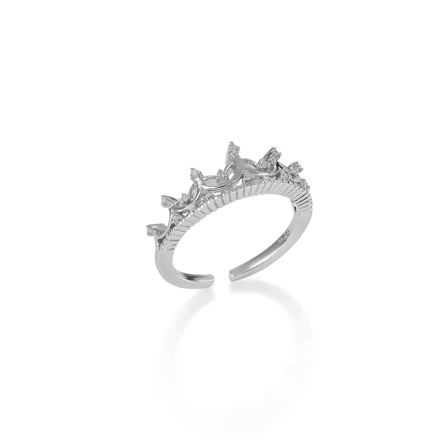 The Diamond Crown Ring