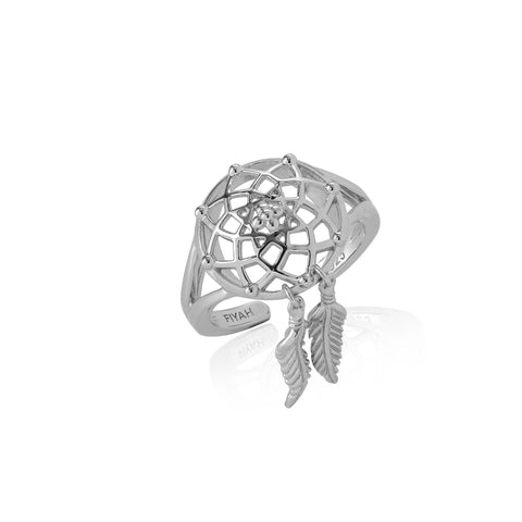 Adjustable Dreamcatcher Ring