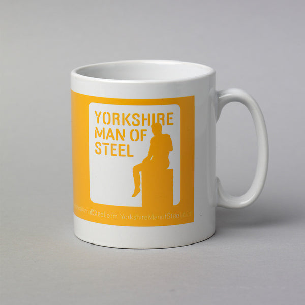 Yorkshire Man of Steel (classic logo)