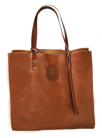Chestnut Brown Tallis Tote