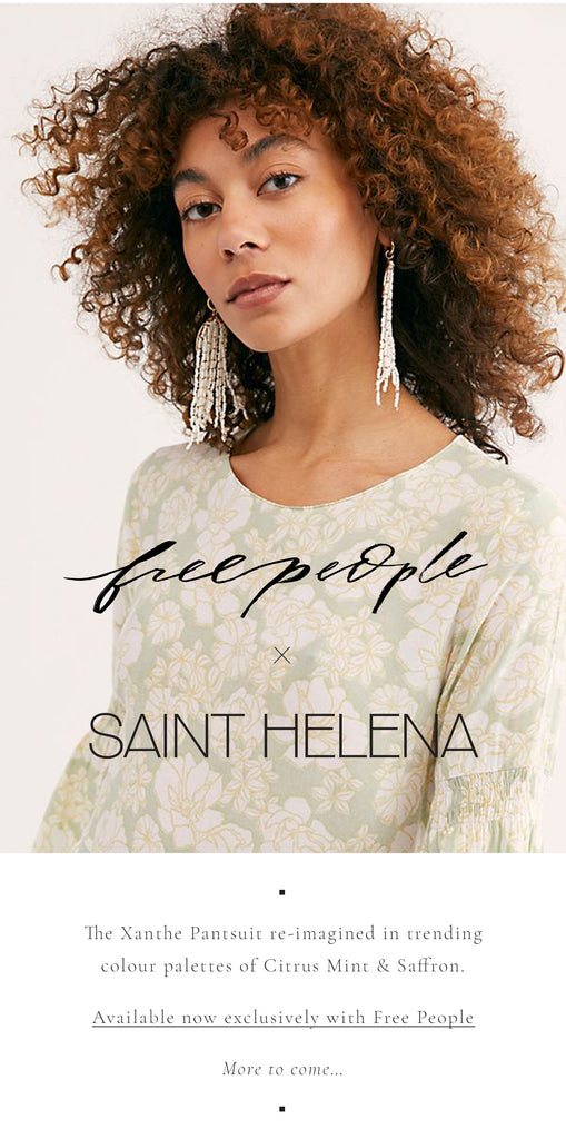 Saint Helena x Free People