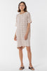 Avalon Knitted Tee Dress - Blush
