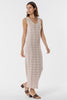 Avalon Knitted Maxi Dress -  Blush