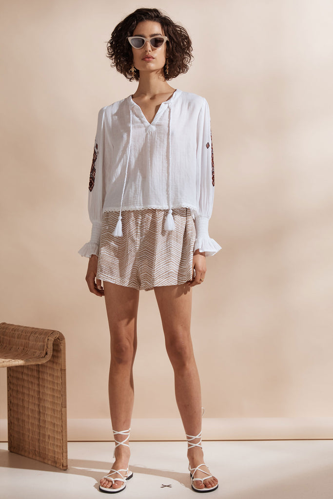 Figuera Smock Blouse