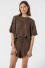 Hayman Knitted Short -  Coffee