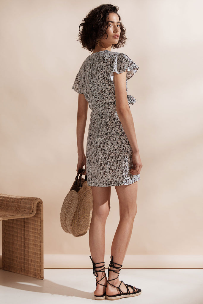 Postcard Tie Dress
