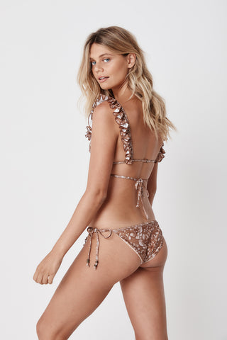 Savanna Swimsuit - Hazelnut