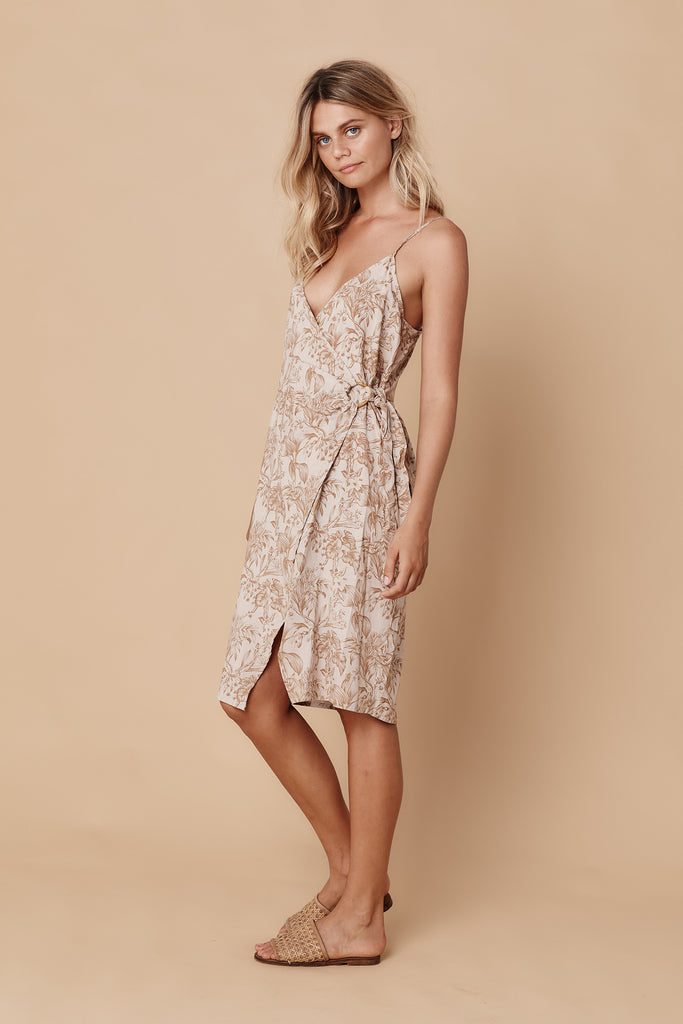 NICO COCKTAIL DRESS - TROPICAL SAND