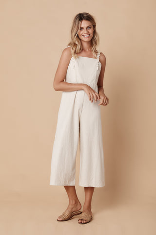 KAUAI HIGH WAISTED SHORT - WHITE LINEN