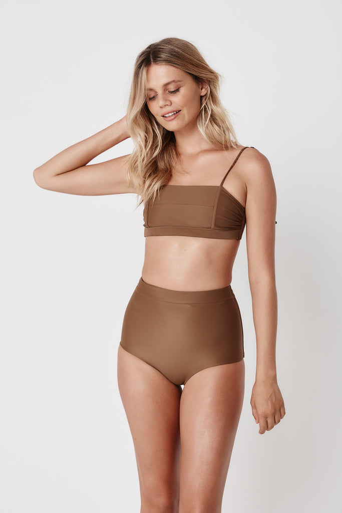Savanna High Pant - Hazelnut