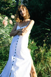 Nouvelle Linen Dress - White