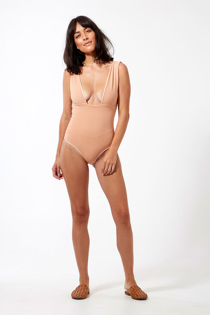 JAVIERA SWIMSUIT - BISQUE
