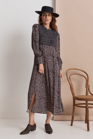 Shangri-La Maxi Dress | Midnight Floral