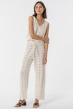 Scarborough Knitted Pant - Creme