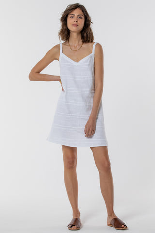 Magnolia Fluted Mini Dress