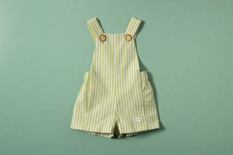 DILLON DUNGAREE ROMPER
