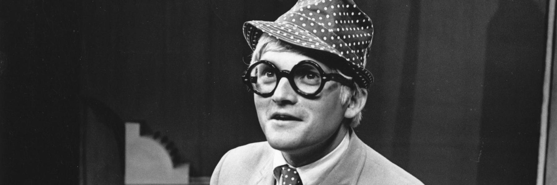 David Hockney an eyewear icon