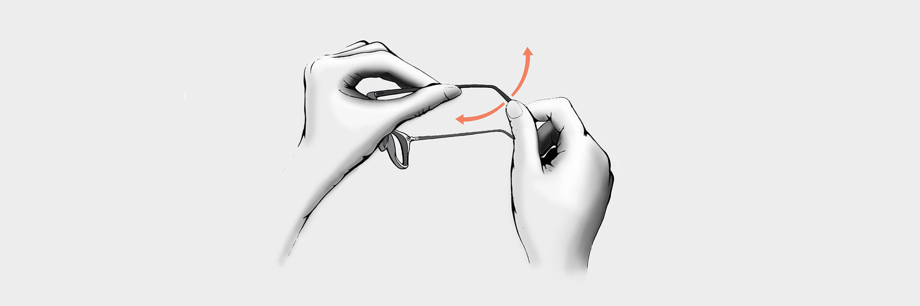 How to adjust glasses