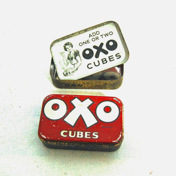 Image of Oxo stock cubes tin.