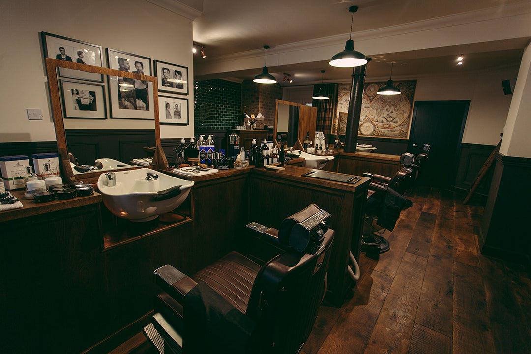 House Martin, Glasgow Barbers, Gentleman's Barbers, Haircuts & Shaving, Banton Frameworks, Blog, Makers Monday.